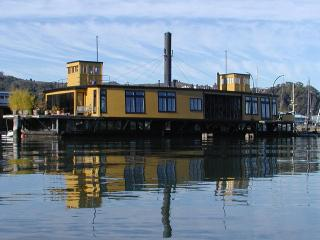 Most Spectacular Houseboat in Sausalito