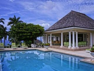 Luxury 6 bedroom Montego Bay villa. 180 degree panoramic views of the crystal clear Caribbean ocean!