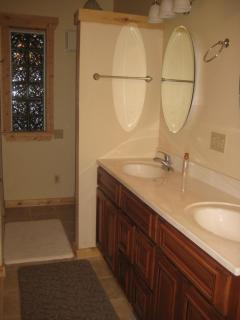 MASTER BA with large tiled shower, walk-in closet and more!