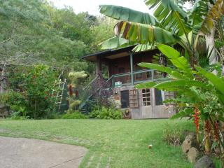 Green Lodge on Organic Farm across from Pipeline, Haleiwa