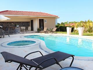 Professionally decorated villa with covered BBQ and bar area beside the pool!(610), Cabarete
