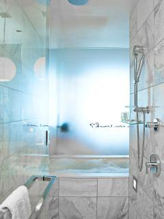 Shower with Rainfall shower head