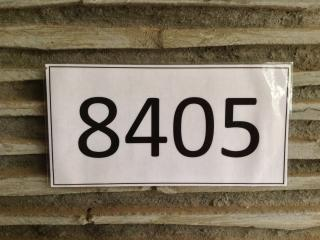 Unit Number ! Remember,please.(4 units on the same  floor )