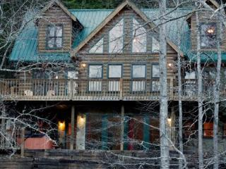 Shallowford View - For the Blue Ridge vacation you deserve, enjoy this classic cabin rental on the river
