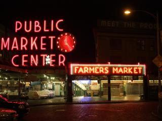PIKE PLACE MARKET, Secure Parking, View, Top Floor, Seattle
