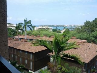 Well appointed 1 bedroom with partial ocean view at Kona Pacific B511, Kailua-Kona