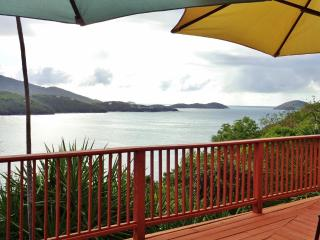 Enjoy this breathtaking view while sunbathing, dining, or relaxing on the deck.