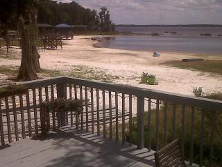 Lakehouse 8 miles from Disney on Lancaster Beach, Clermont