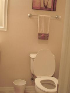Powder Room off from living room