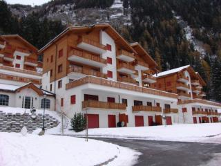 apartment in the largest spa center in Switzerland, Leukerbad