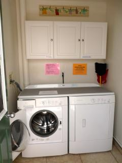 Laundry Room w/Front Load Washer & Dryer