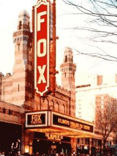 Walk to Peachtree St and the Fabulous Fox