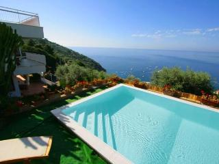 6 Bedrooms villa with private pool, beach and view, Nerano