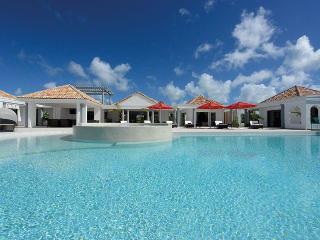 JUST IN PARADISE... fabulous new luxury villa in prestigious Terres Basses offering gorgeous views
