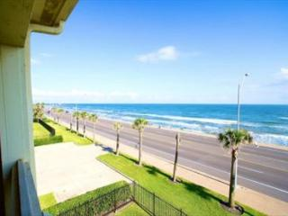 Condo with one of the best ocean views on Galveston Island!