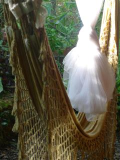 Hammock With Bridal Tulle Netting