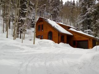 Winter at the Crystal Spruce Cabin