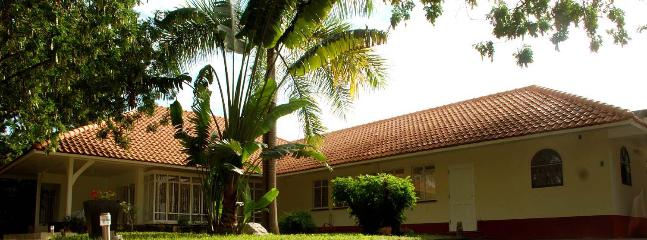 Specially designed tropical villa with many bay windows, wide eaves and a very generous size