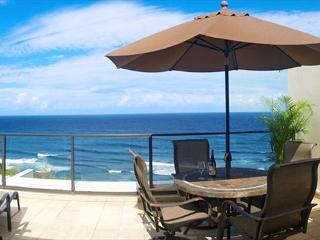 Puu Poa 405: Oceanfront 2br/2ba luxury penthouse, spectacular inside and out!, Princeville