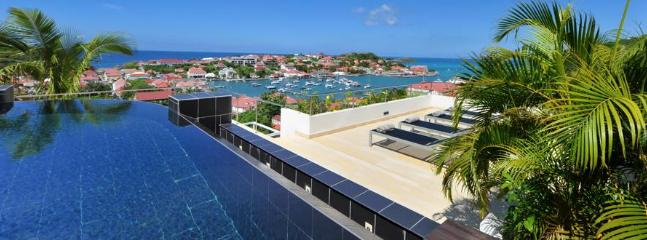 Prestige at Gustavia, St. Barths - Panoramic View Of Ocean, Harbour and Sunset, Walk To Beach, Priva