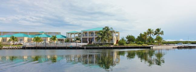 View of the clubhouse and condos from the ocean
