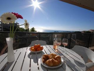 Emma- 1bed with sea view and pool. SUMMER DEALS, Niza