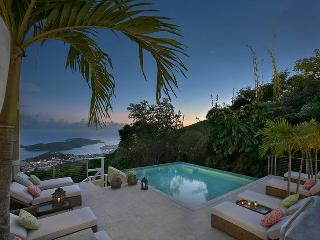 Outrigger House at Charlotte Amalie, St. Thomas - Ocean View, Gated Community, Pool