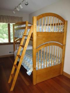 King Bedroom with bunk beds