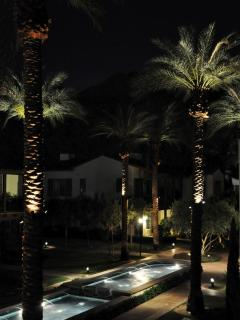 Outlook from Balcony at Night