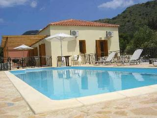 Private villa with GATED POOL for child safety, Almyrida