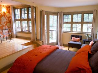 Sumptuous, serene, split-level studio, Mill Valley