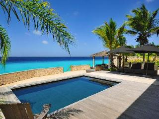 Kas Chapin boasts expansive wooden deck, saltwater pool & direct access to the coral reef, Kralendijk