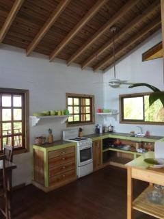 Tree Top Cottage fully equipped kitchen