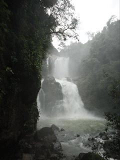 Nuyaca Waterfalls, perfect for swimming, located near the cottages