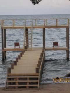 Our Private dock