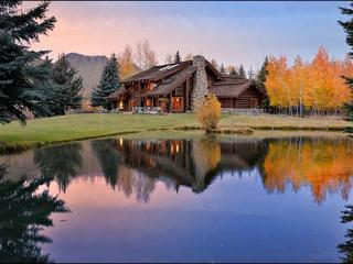 Riverside Log Home with Large Yard & Pond - Beautiful Quality Throughout the Home (1217), Ketchum