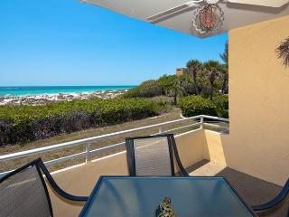 Beaches and Dreams: 2BR Beachfront Condo with Pool, Holmes Beach