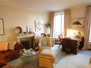 In the heart of Paris, Charming Apartment in the Marais with Terrace and Fireplace, sleeps 4, París