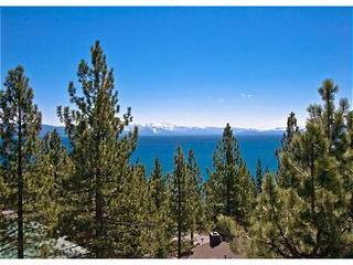 Panoramic view of Lake Tahoe from most every room in this home