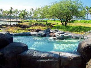 Exceptional 3 bedroom, 2 bath ground floor end unit with fabulous garden view, Waikoloa