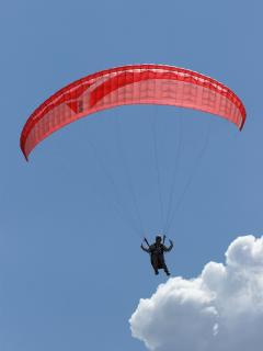 Paragliding at its best