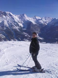 Skiing at Orcières