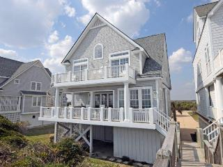 6BR Beachfront Home w/ Hottub open fall wks 5% off - North Topsail Beach vacation rentals