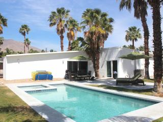 Sleek & Sexy Mid-Century with View, Bikes, Hot Tub, Palm Springs