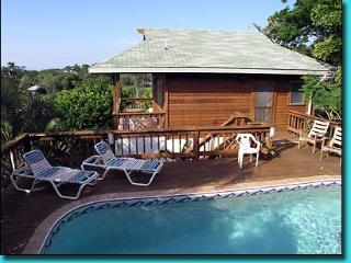 Casita Pool Home on 1.5 Acres & 400 foot Dock/View - Roatan vacation rentals