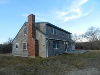#1071 A waterfront Cape located on Tisbury Great Pond, West Tisbury