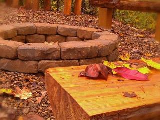 Outdoor Firepit - Secluded 1 Bedroom Near All The Fun, Sevierville