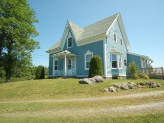 A Blue House Oceanfront Weekly Home Rental, Lockeport
