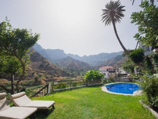 1Bedr Apt with views to Garajonay NP, Hermigua