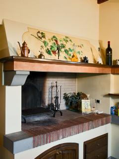 Fireplace/BBQ in the Kitchen